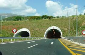 Egnatia Odos Motorway – Tunnels in Section Asprovalta - Strimonas
