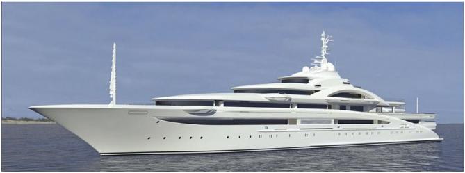 Mega Yacht CZAR Refit