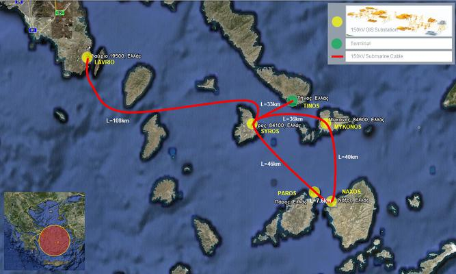 International Tender DAPM 41303 – CONNECTION BETWEEN THE CYCLADIC ISLANDS AND THE MAINLAND INTERCONNECTED TRANSMISSION SYSTEM